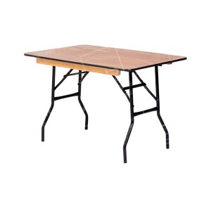 4ft Rectangular Trestle Table